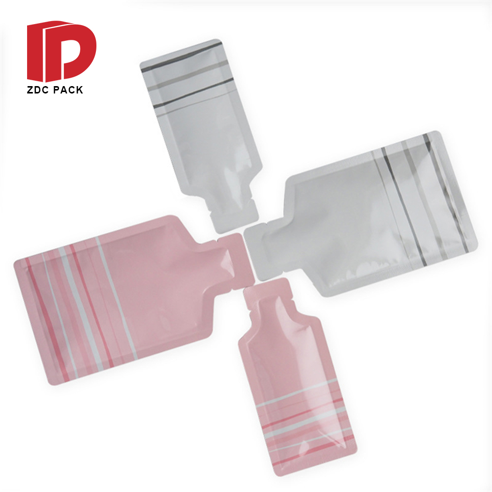 Flexible Liquid Hand Sanitizer Gel Pouch Plastic Juice or Beverage 150ml 300ml Filling Spout Pouch