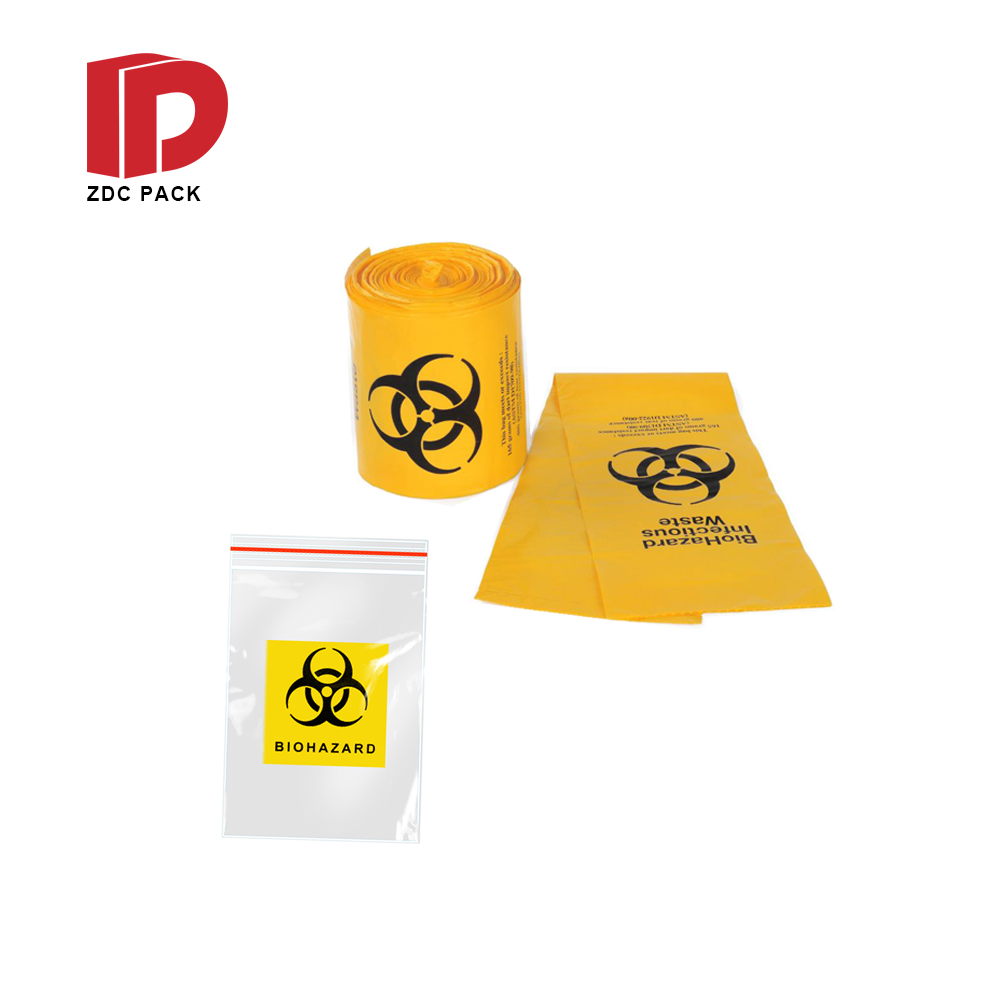 Wholesale Ecofriendly Lab Use Plastic Biohazard Pathology Specimen Bag