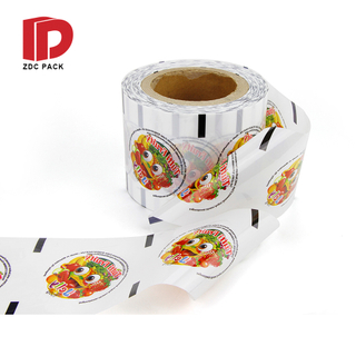 Top quality PE PP Cup sealing lidding film for food jelly yogurt